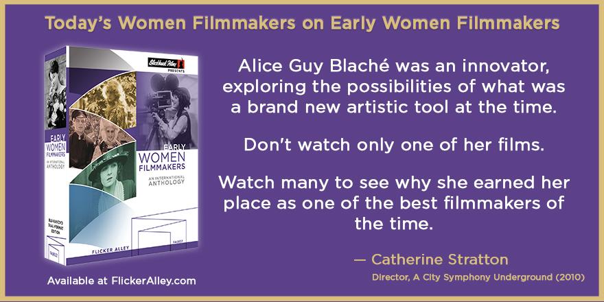 Catherine Stratton Flicker Alley Silent films movies Blu-ray DVD