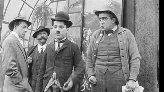 Film Johnnie is one of the early Keystone Charlie Chaplin shorts.