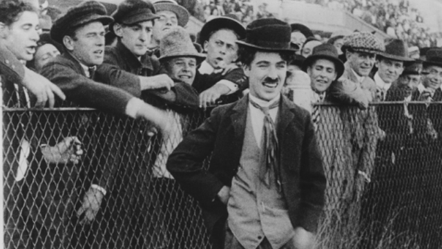 Gentlemen of Nerve is one of the first Charlie Chaplin shorts.