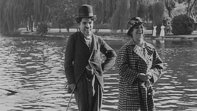Recreation is one of the early Keystone Charlie Chaplin shorts.