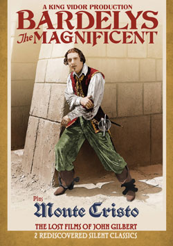 Bardelys the Magnificent / Monte Cristo DVD Flicker Alley blu-ray DVD silent film buy watch stream