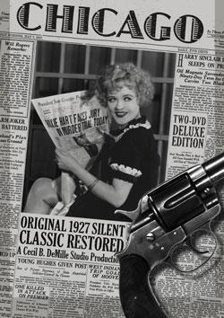 Cecil B. DeMille's Chicago (1927) DVD Flicker Alley blu-ray DVD silent film buy watch stream