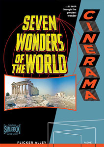 Flicker Alley blu-ray DVD silent film buy watch stream Cinerama's Seven Wonders of the World Blu-ray/DVD