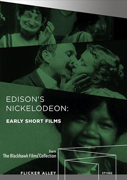 Edison's Nickelodeon: Early Short Films streaming in HD Flicker Alley blu-ray DVD silent film buy watch stream