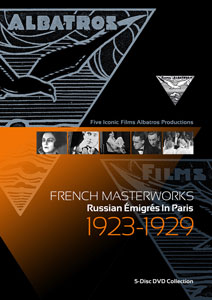 Flicker Alley blu-ray DVD silent film buy watch stream French Masterworks: Russian Émigrés in Paris 1923-1929 DVD