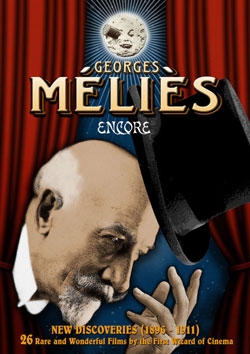 Georges Méliès: Encore – New Discoveries (1896-1911) DVD Flicker Alley blu-ray DVD silent film buy watch stream