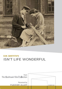 Flicker Alley blu-ray DVD silent film buy watch stream D.W. Griffith's Isn't Life Wonderful Manufactured-On-Demand MOD DVD