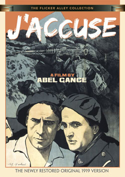 J'Accuse: A Film by Abel Gance (The Newly Restored Original 1919 Version) DVD Flicker Alley blu-ray DVD silent film buy watch stream
