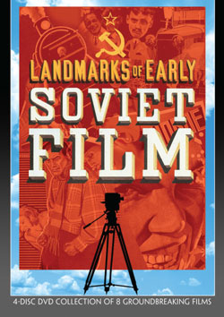 Landmarks of Early Soviet Film DVD Flicker Alley blu-ray DVD silent film buy watch stream