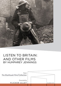 Flicker Alley blu-ray DVD silent film buy watch stream Listen to Britain: And Other Films by Humphrey Jennings Manufactured-On-Demand MOD DVD