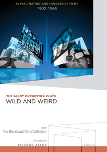 The Alloy Orchestra Plays Wild and Weird Manufactured-On-Demand MOD DVD Flicker Alley blu-ray DVD silent film buy watch stream