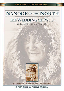 Flicker Alley blu-ray DVD silent film buy watch stream Nanook of the North/The Wedding of Palo and Other Films of Arctic Life Blu-ray
