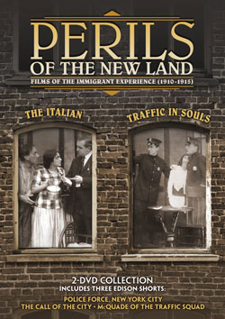 Perils of the New Land: Films of the Immigrant Experience (1910-1915) DVD Flicker Alley blu-ray DVD silent film buy watch stream