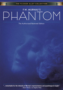 Flicker Alley blu-ray DVD silent film buy watch stream F.W. Murnau's Phantom: The Authorized Restored Edition DVD