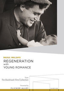 Regeneration with Young Romance Manufactured-On-Demand MOD DVD Flicker Alley blu-ray DVD silent film buy watch stream