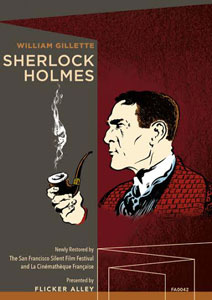 Flicker Alley blu-ray DVD silent film buy watch stream Sherlock Holmes (1916) Blu-ray/DVD