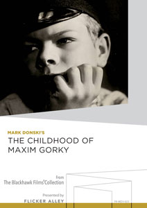 The Childhood of Maxim Gorky Manufactured-On-Demand MOD DVD Flicker Alley blu-ray DVD silent film buy watch stream