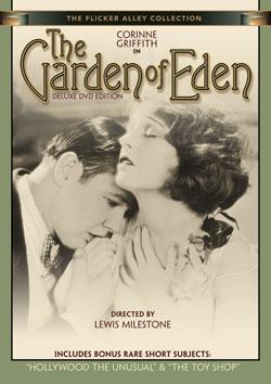 The Garden of Eden DVD Flicker Alley blu-ray DVD silent film buy watch stream