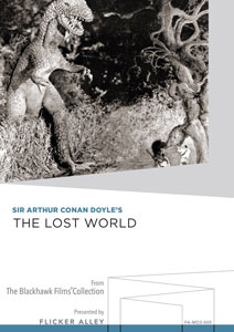 Sir Arthur Conan Doyle's The Lost World Manufactured-On-Demand MOD DVD Flicker Alley blu-ray DVD silent film buy watch stream