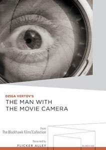 Flicker Alley blu-ray DVD silent film buy watch stream Dziga Vertov's The Man with the Movie Camera Manufactured-On-Demand MOD DVD