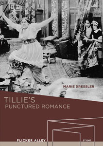 Tillie's Punctured Romance Flicker Alley blu-ray DVD silent film buy watch stream