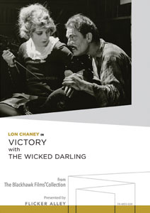 Flicker Alley blu-ray DVD silent film buy watch stream Lon Chaney in Victory with The Wicked Darling Manufactured-On-Demand MOD DVD
