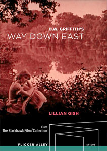 D.W. Griffith's Way Down EastFlicker Alley blu-ray DVD silent film buy watch stream
