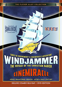 Flicker Alley blu-ray DVD silent film buy watch stream Windjammer: The Voyage of the Christian Radich Blu-ray/DVD