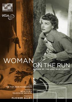 Woman on the Run Blu-ray/DVD buy silent film DVD Blu-ray Flicker Alley