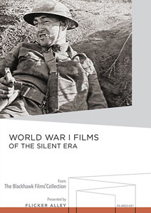 Flicker Alley blu-ray DVD silent film buy watch stream World War I Films of the Silent Era Manufactured-On-Demand MOD DVD