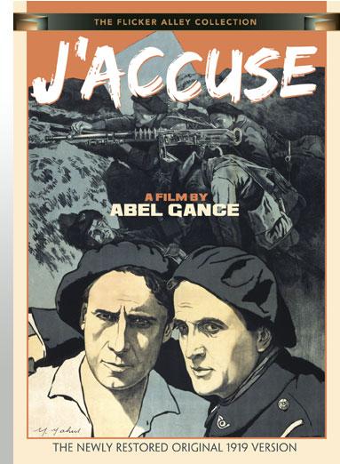 Abel Gance J'Accuse Flicker Alley Silent Film Blu-ray DVD Stream buy MOD