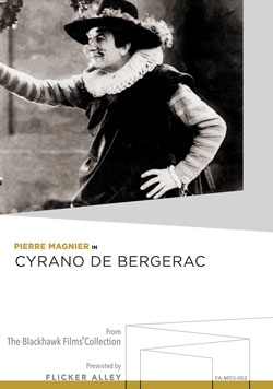 Flicker Alley blu-ray DVD silent film buy watch stream Cyrano de Bergerac (1925) Manufactured-On-Demand MOD DVD