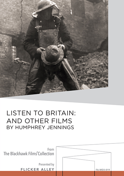 Flicker Alley Silent Film Blu-ray DVD Stream buy MOD Humphrey Jennings Listen to Britain MOD DVD