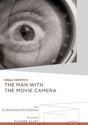 Flicker Alley Silent Film Blu-ray DVD Stream buy MOD THe Man with a movie camera dziga vertov