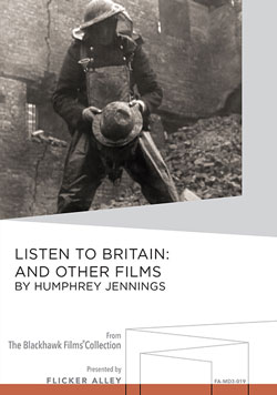 Listen to Britain: And Other Films by Humphrey Jennings Manufactured-On-Demand MOD DVD Flicker Alley blu-ray DVD silent film buy watch stream