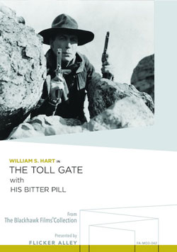 Flicker Alley blu-ray DVD silent film buy watch stream The Toll Gate with His Bitter Pill Manufactured-On-Demand MOD DVD
