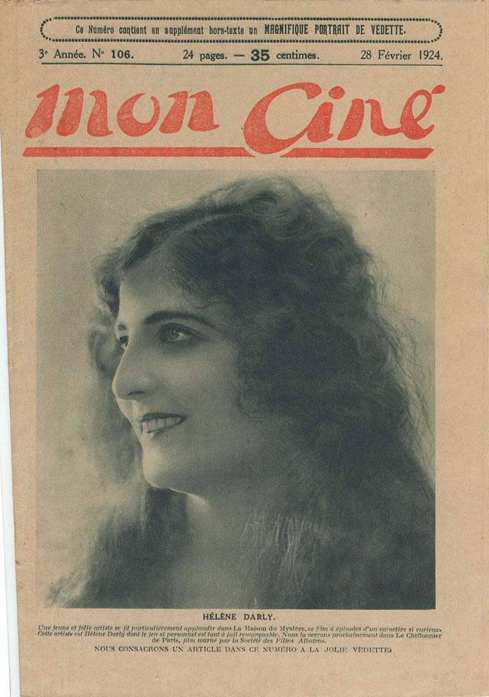 Helene Darly French Magazine