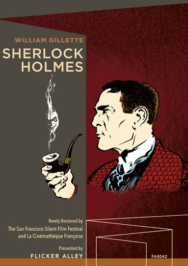 Flicker Alley Silent Film Blu-ray DVD Stream buy MOD Sherlock Holmes