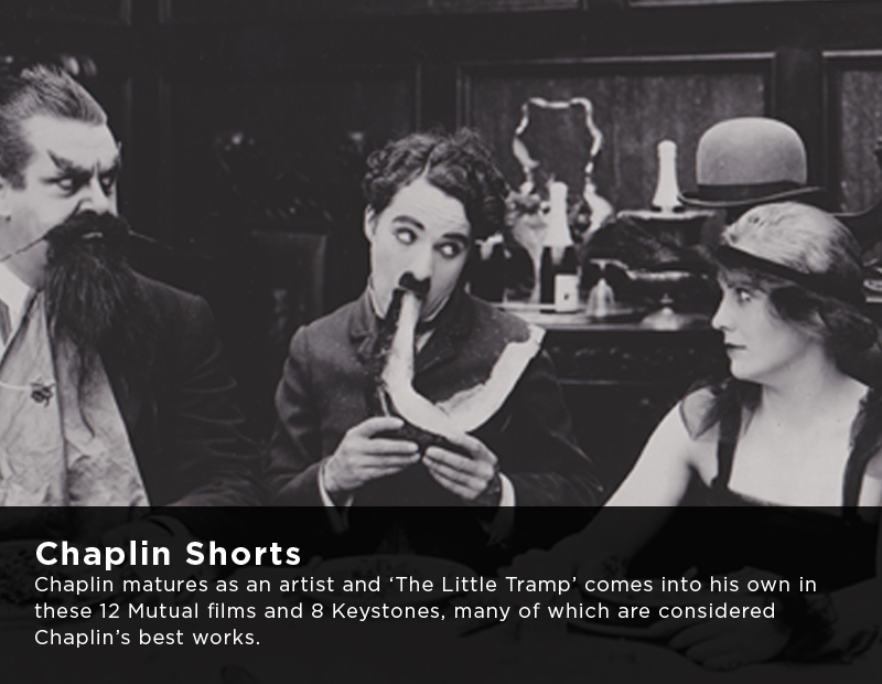 Flicker Alley Silent Film Blu-ray DVD Stream buy MOD Charlie Chaplin shorts