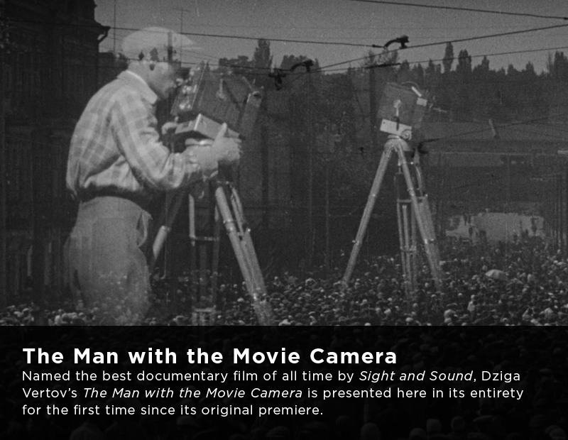 Flicker Alley Silent Film Blu-ray DVD Stream buy MOD Dziga Vertov Man with a Movie Camera