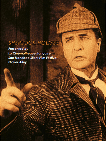 Flicker Alley Silent Film Blu-ray DVD Stream buy MOD Sherlock Holmes William Gilette