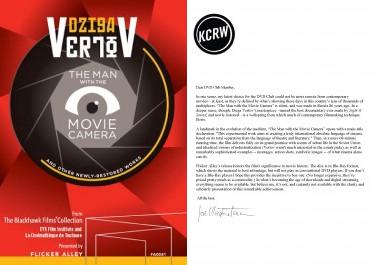 KCRW Letter + Vertov Cover