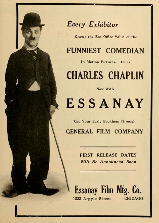 Image result for chaplin essanay