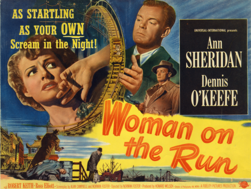 Woman on the Run_title card_color