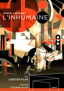 L'Inhumaine Blu-ray Flicker Alley blu-ray DVD silent film buy watch stream