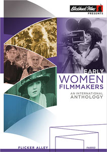 Early Women Filmmakers: An International Anthology Blu-ray/DVD early women filmmakers buy silent film DVD Blu-ray Flicker Alley