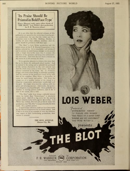 Early Women Filmmaker Blu-ray DVD Flicker Alley Silent Film Lois Weber
