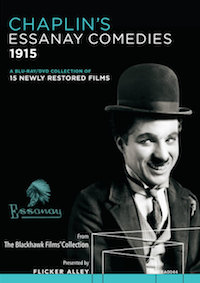 This Flicker Alley set contains alls the Essanay Charlie Chaplin shorts.