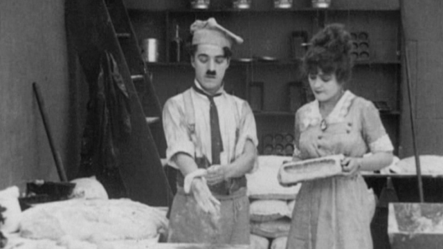 Dough and Dynamite is one of the Keystone Charlie Chaplin shorts.