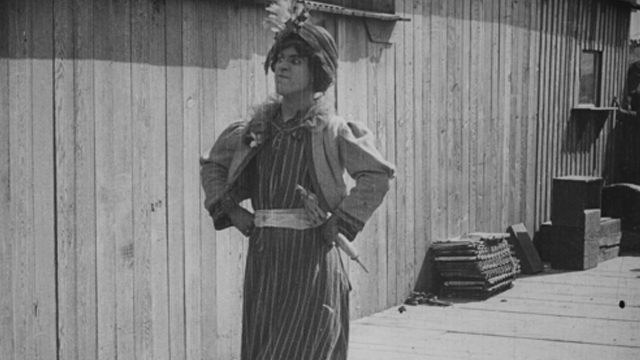 A Busy Day is one of the earliest Charlie Chaplin shorts.
